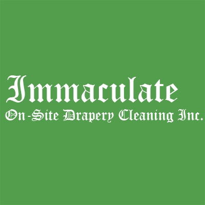 Immaculate On-Site Drapery Cleaning Inc