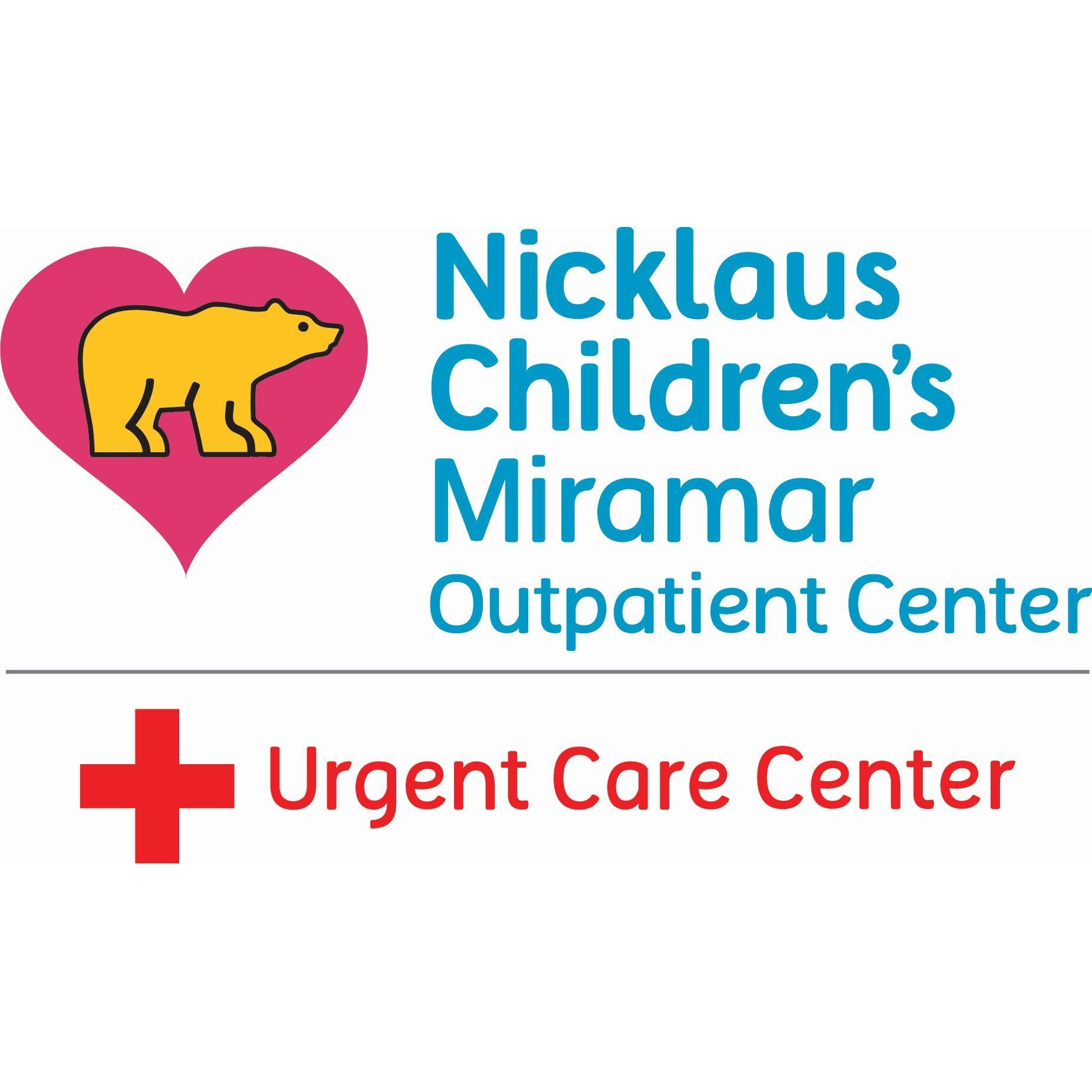 Nicklaus Children S Miramar Urgent Care Center 12246 Miramar Parkway