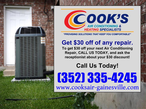 Cooks Air Conditioning & Heating Specialist - Gainesville image 0