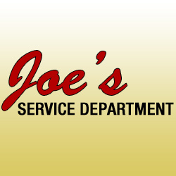 Joe's Service Department