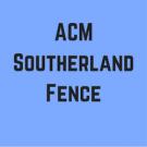 ACM Southerland Fence