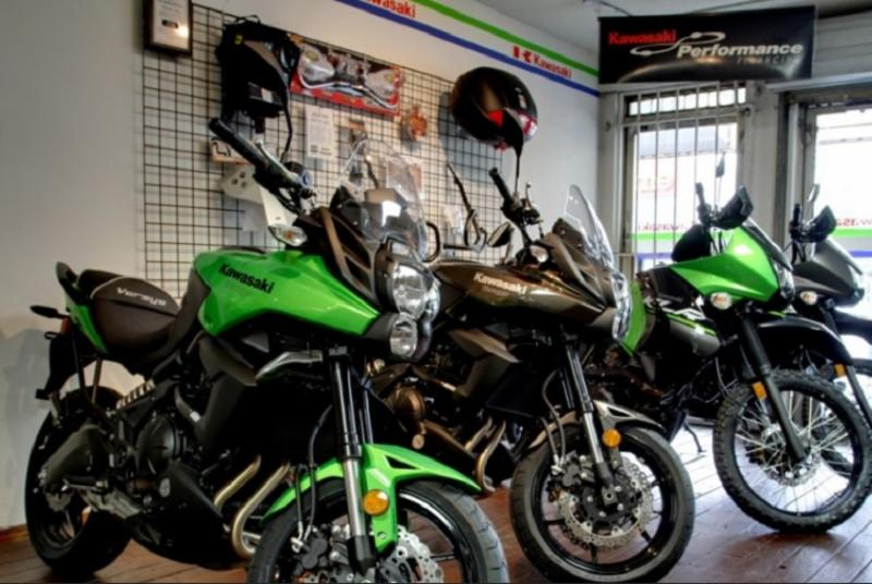 Burnaby Kawasaki in Burnaby: Sales Department Showroom