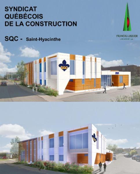 Francis Lussier Architecte à Saint-Hyacinthe