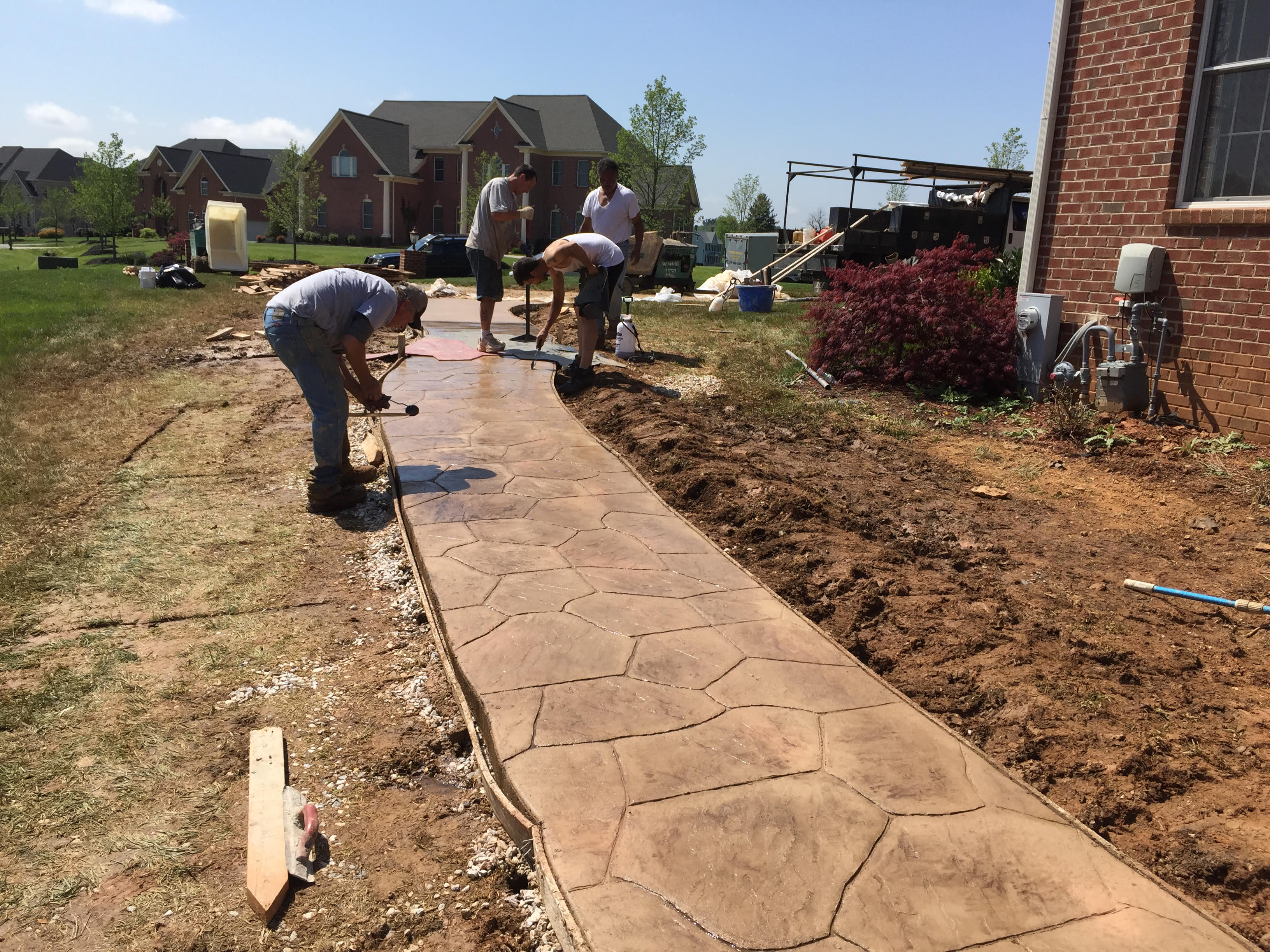 Artistic Stamped Concrete image 15