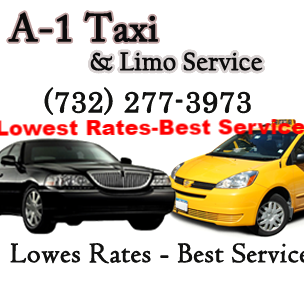 Travel Agency in NJ Carteret 07008 A-1 Airport Limo & Taxi Cab Service 7 State St  (732)675-6660