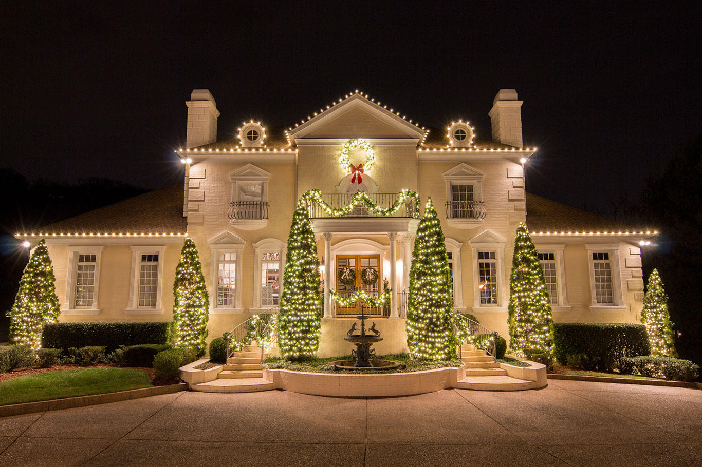 Holiday Lighting - Let us handle the work so you can enjoy the holidays!