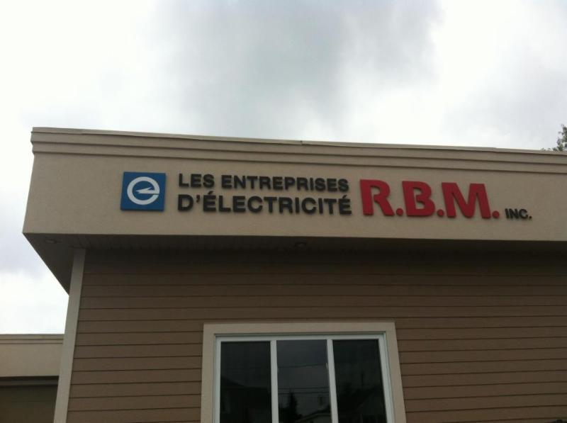 Entreprises D'Electricité R B M Inc à Saint-Jean-Sur-Richelieu