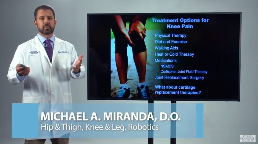 Dr. Miranda - Treatment Options for Knee Pain Presentation