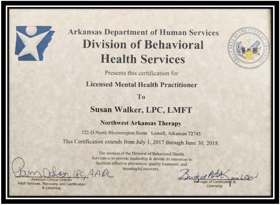 Northwest Arkansas Therapy image 1