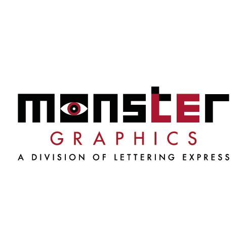 Monster Graphics by Lettering Express