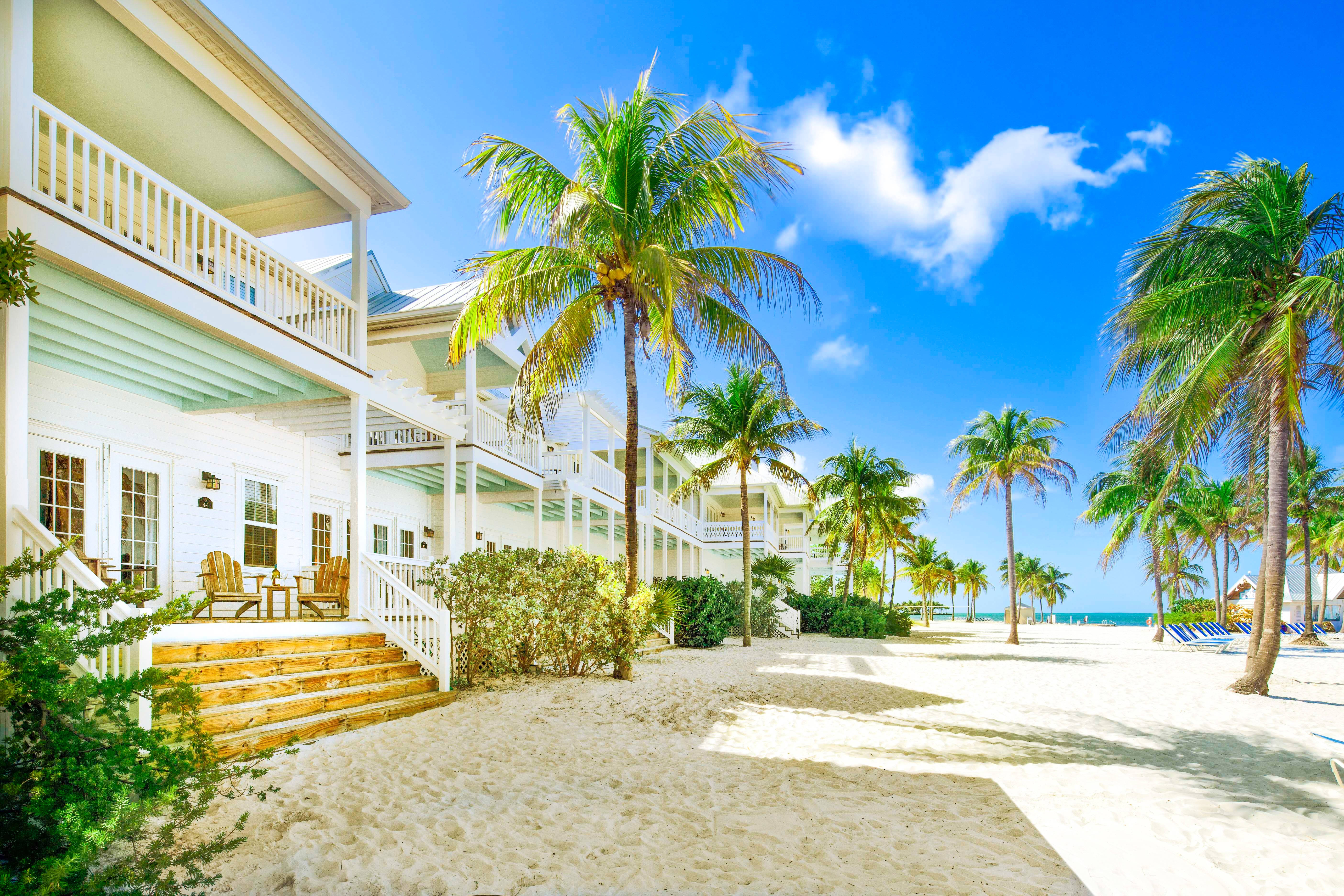 The pristine surroundings of Tranquility Bay Resort, the family-friendly luxury hotel destination in the Florida Keys