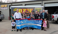 Lewisville Area Chamber of Commerce Ribbon Cutting!