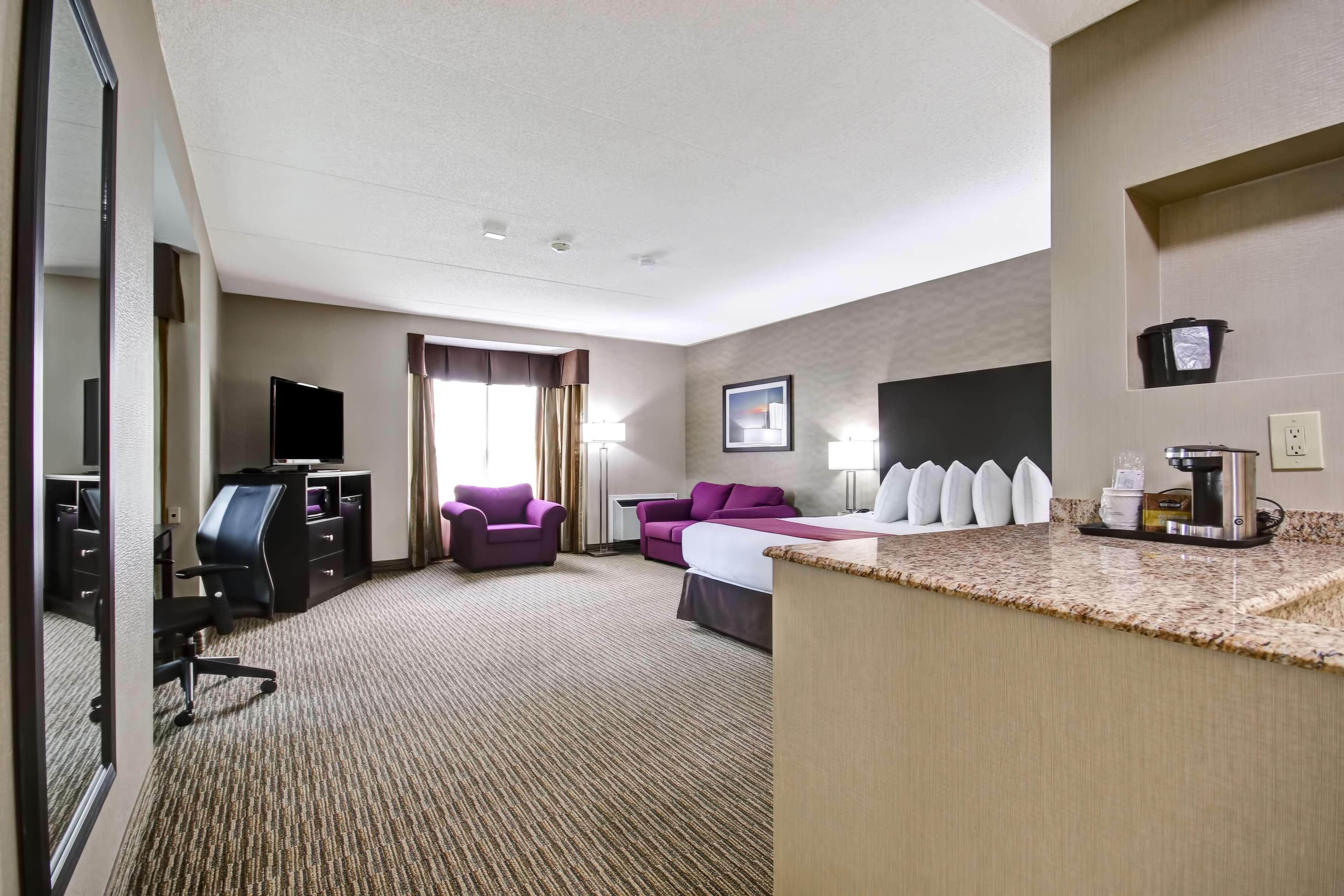 Best Western Little River Inn à Simcoe: Business Plus King Bed Guest Room