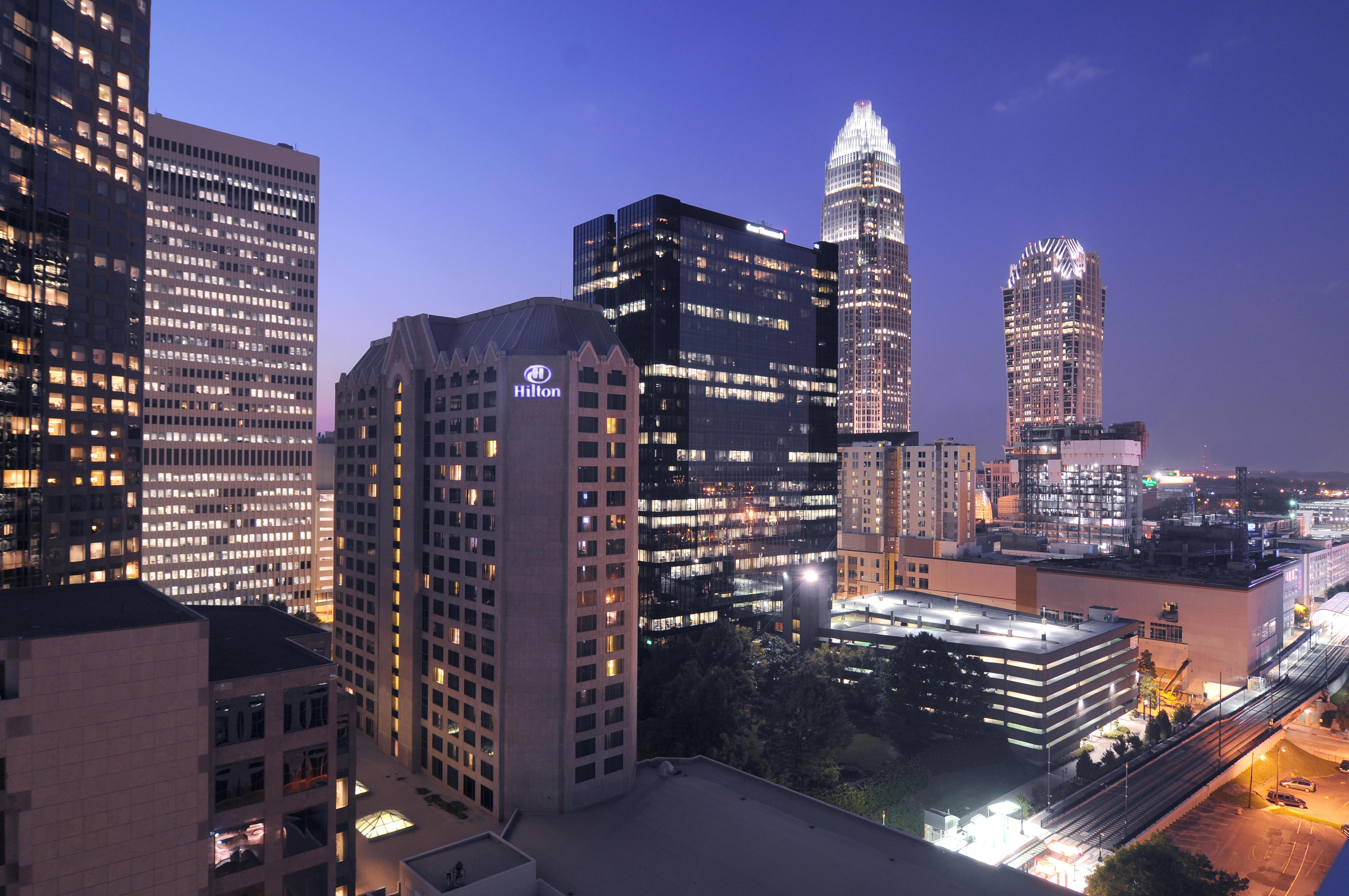 Avis Car Rental Charlotte Nc: Hilton Charlotte Center City In Charlotte, NC