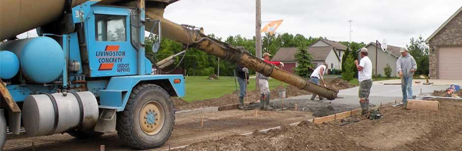 Livingston Concrete LLC 550 N Old US Highway 23 Brighton, MI Concrete  Contractors   MapQuest