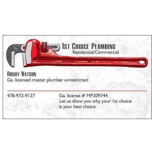 image of 1st Choice Plumbing