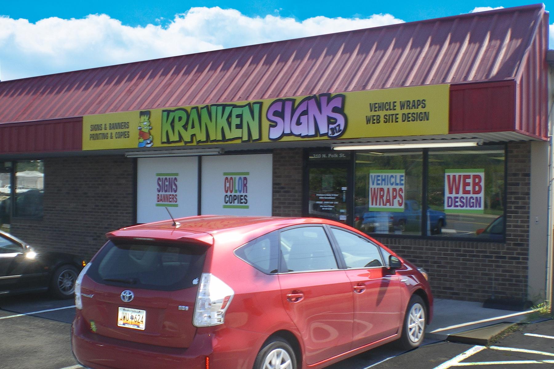 Kranken Signs Vehicle Wraps Charlotte image 2