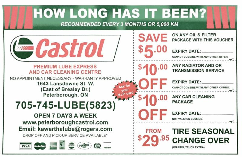 castrol express oil change car cleaning centre peterborough on ourbis. Black Bedroom Furniture Sets. Home Design Ideas