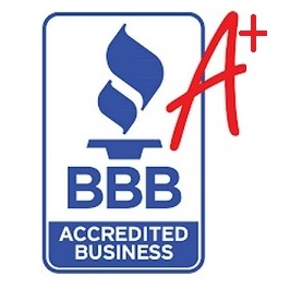 Rated A+ with the Better Business Bureau