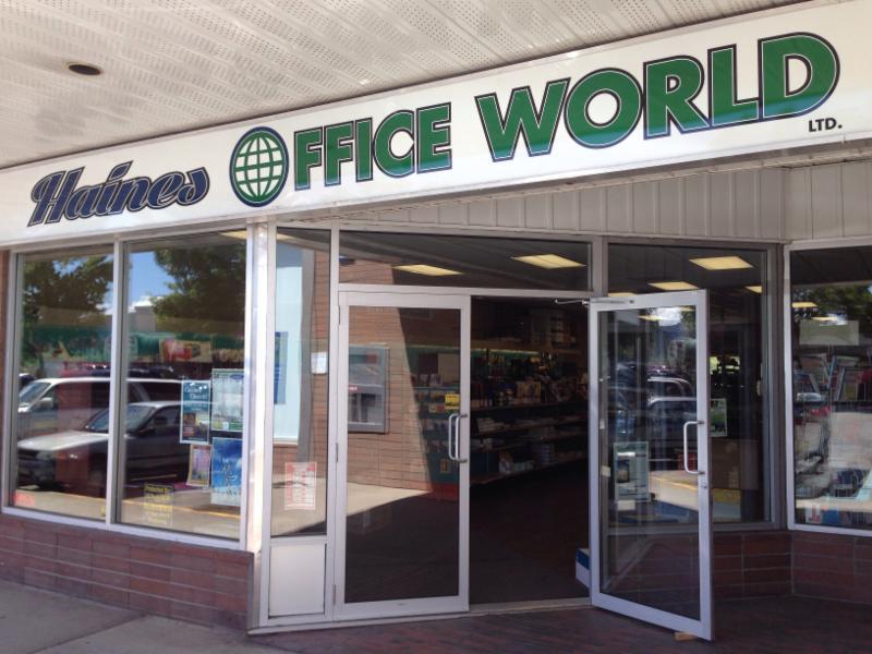 Haines Office World Ltd in Williams Lake