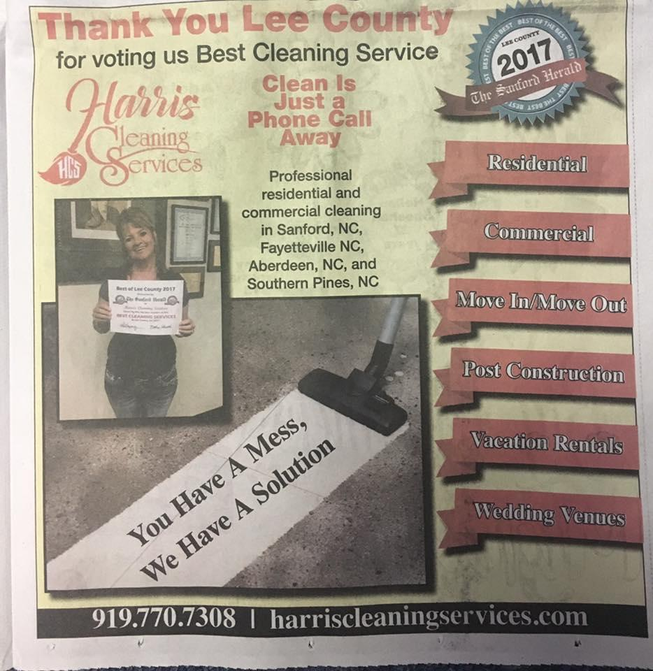 Harris Cleaning Services, LLC image 1