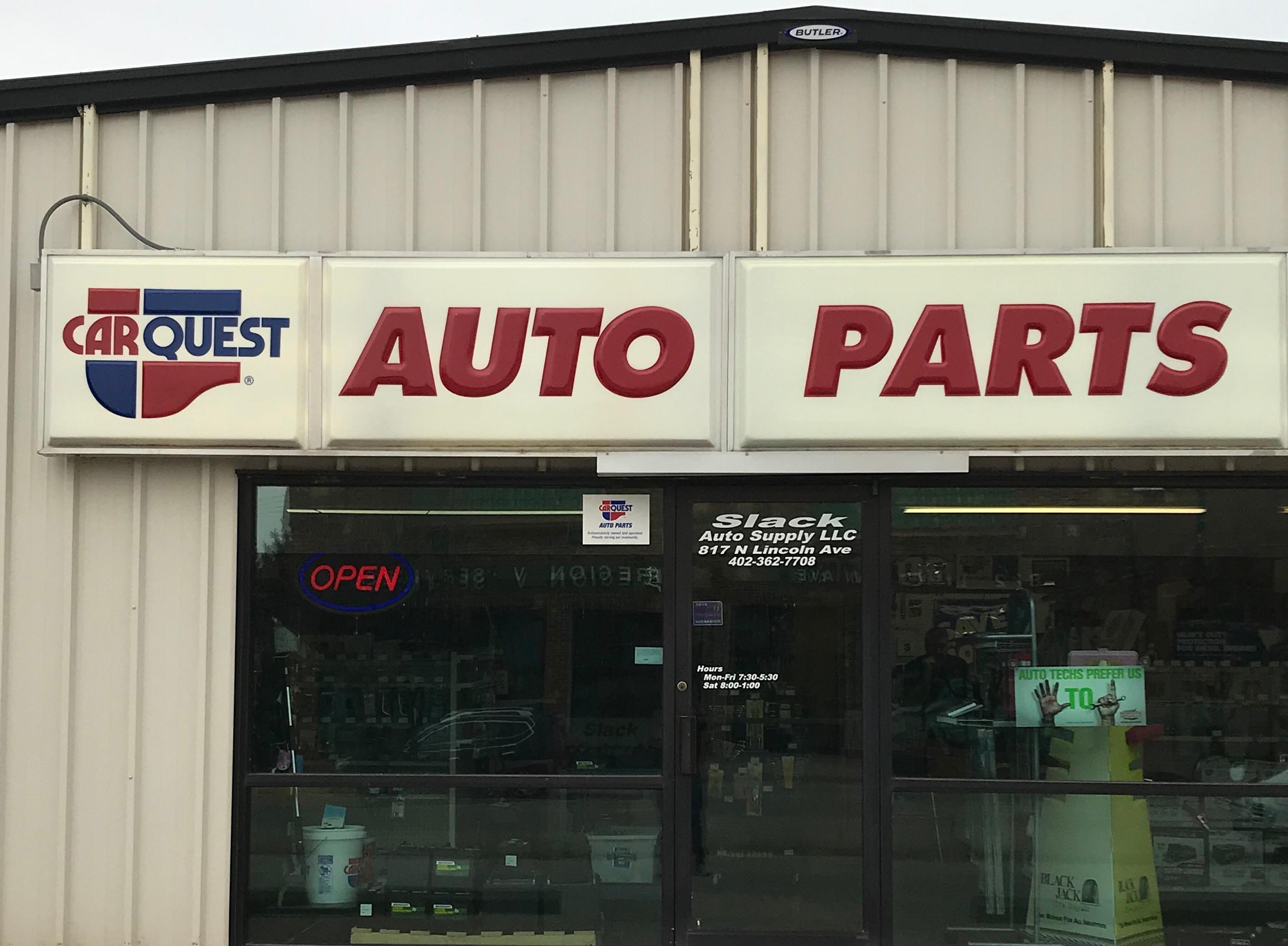 Carquest Auto Parts Slack Auto Supply 817 North Lincoln Ave York