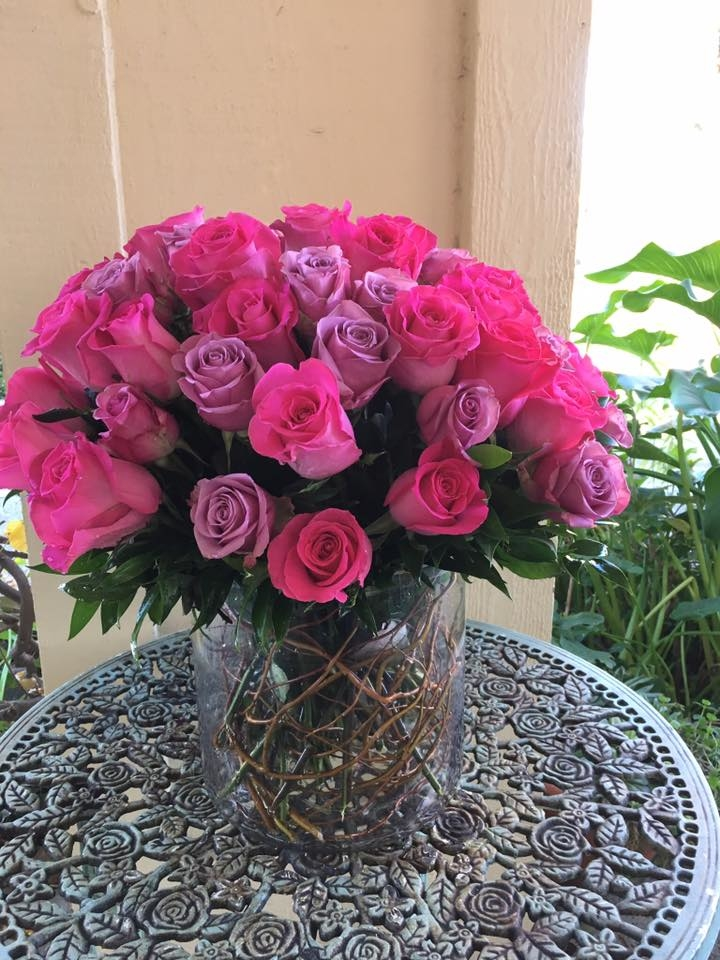 Florentyna's A Fine Flower Company- Roses Arrangement