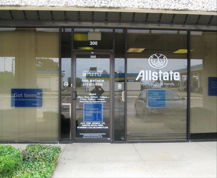 Anil Mathew: Allstate Insurance