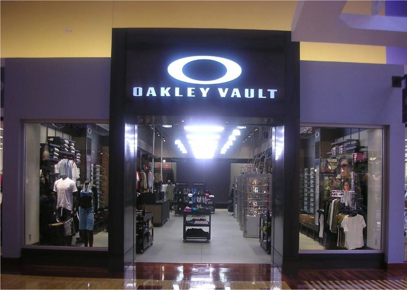 Oakley Vault Locations