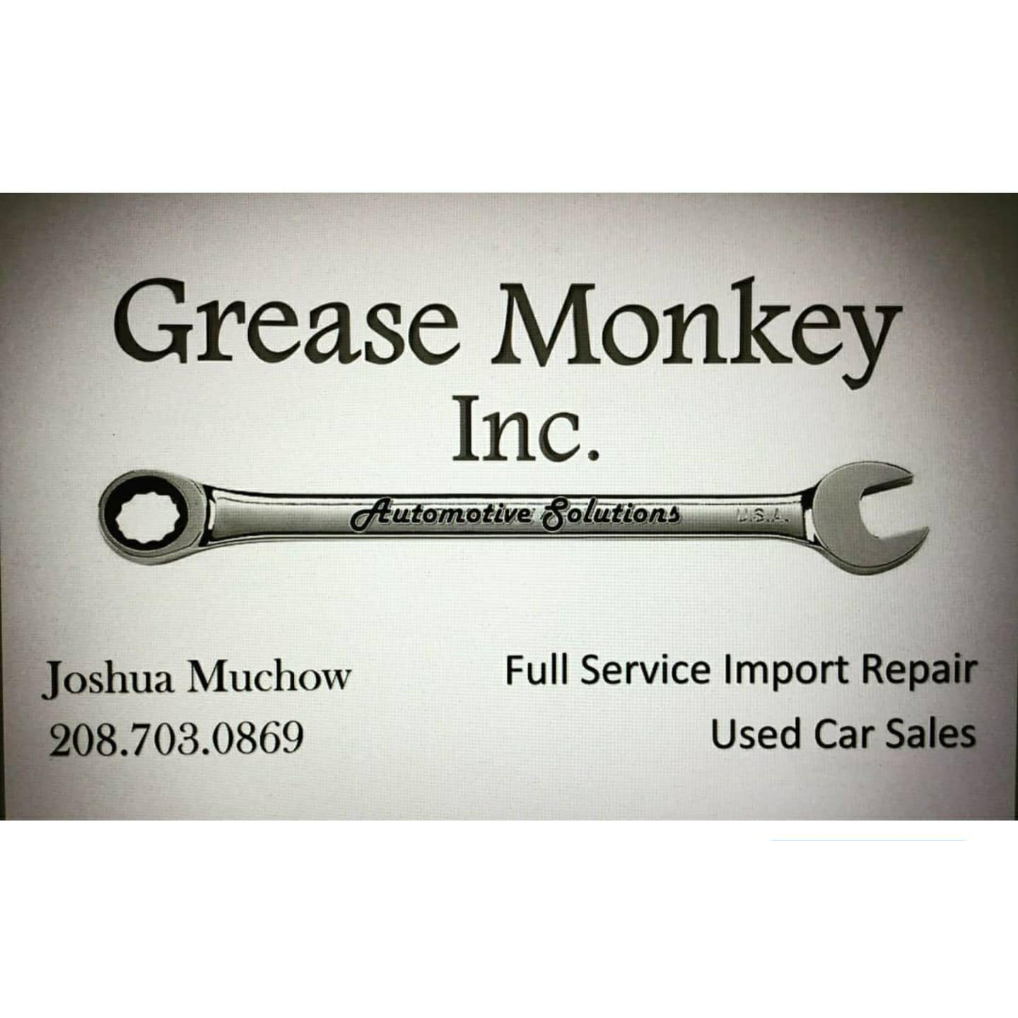 Grease Monkey Automotive Solutions