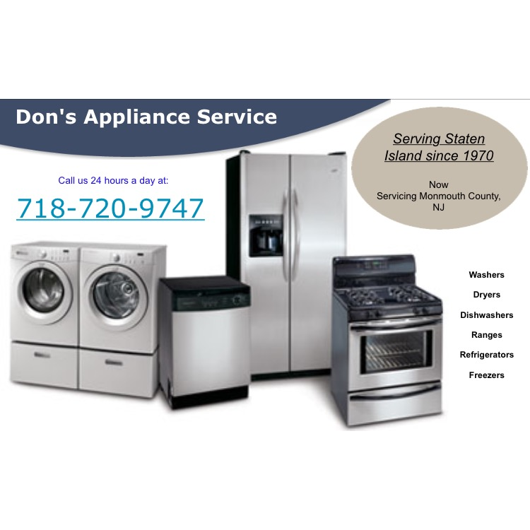 Dons Appliance Service Coupons Near Me In 8coupons
