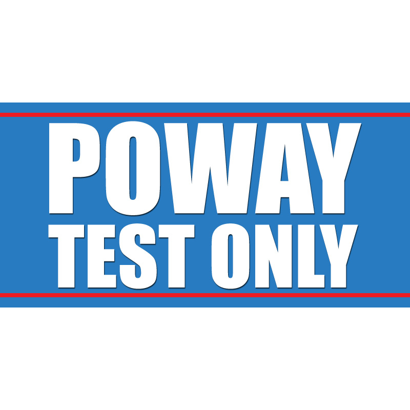 Poway Test Only