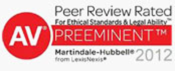 AV Peer Review Rated Preeminent