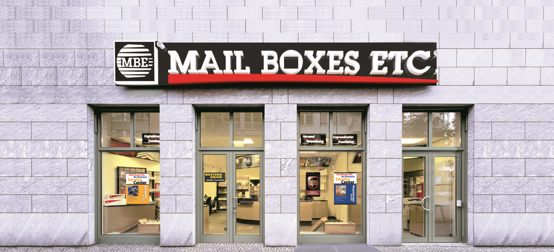 Bild der Mail Boxes Etc. - Center MBE 0197