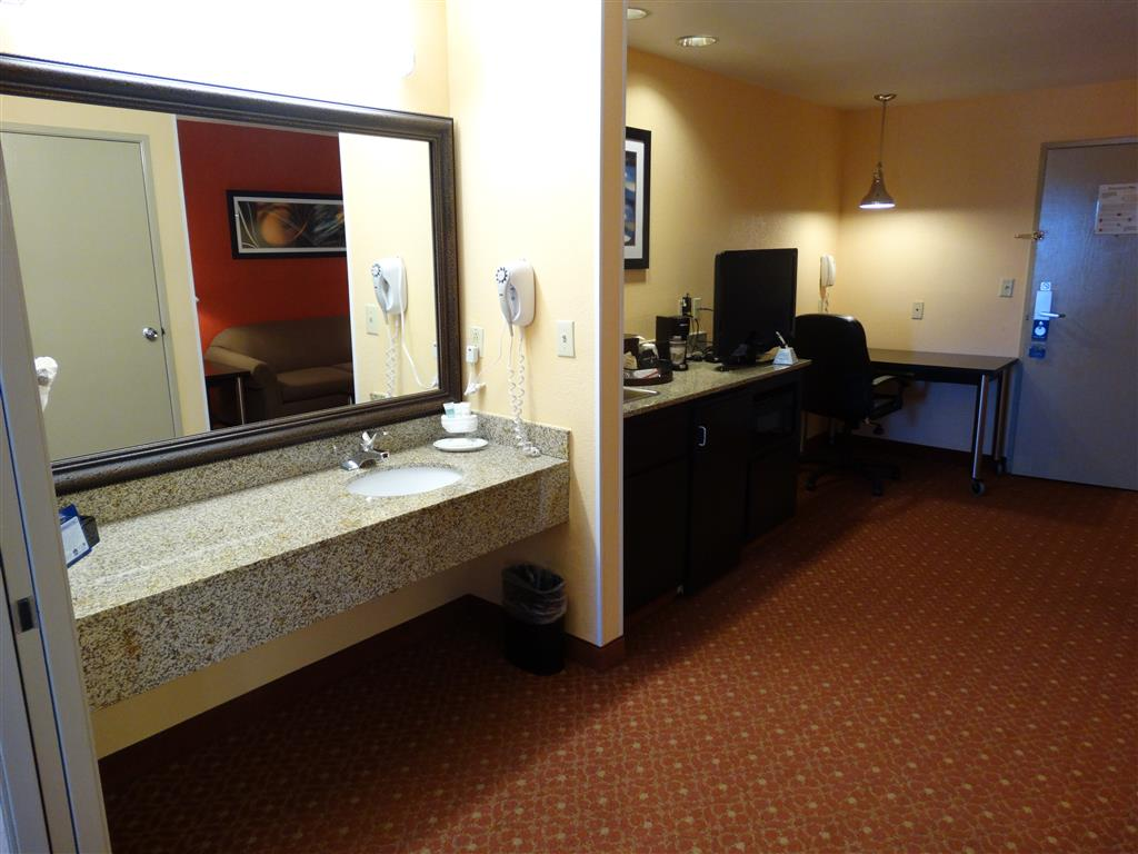 Two Sinks in our Double Suites