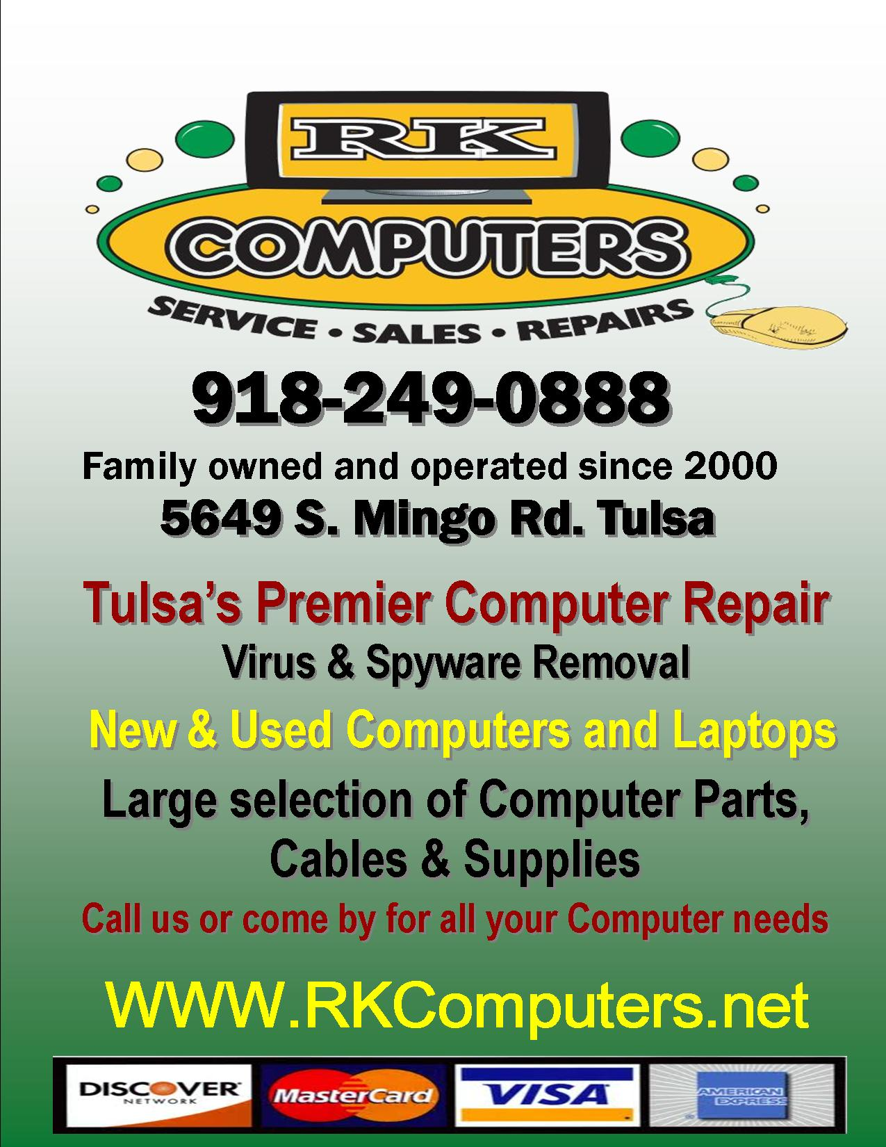 RK Computers in Tulsa, OK - (918) 249-0...
