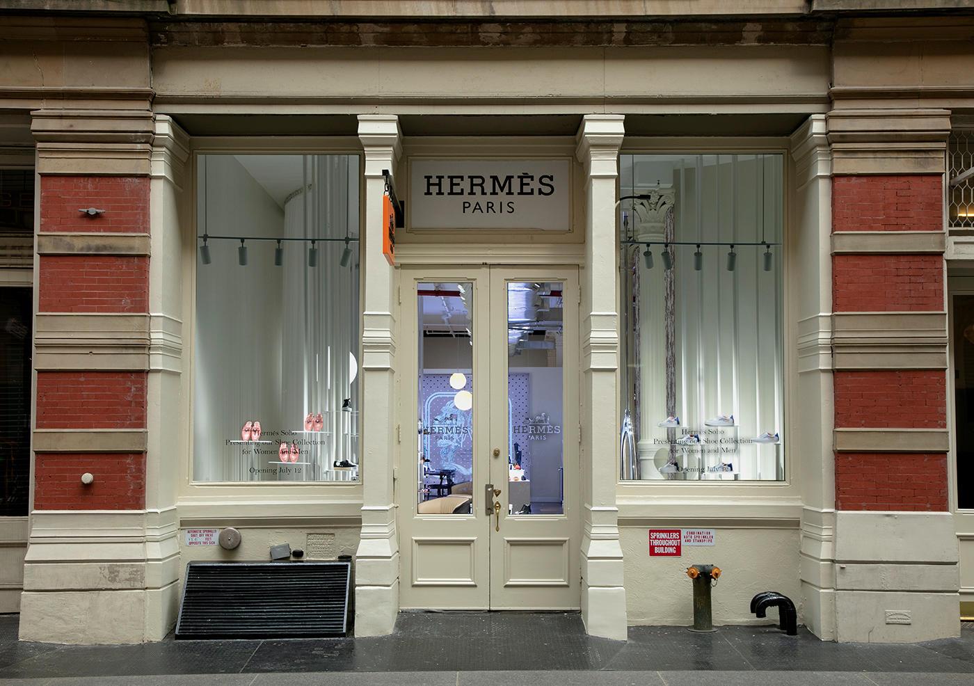Hermès Shoe Salon Pop-Up image 0