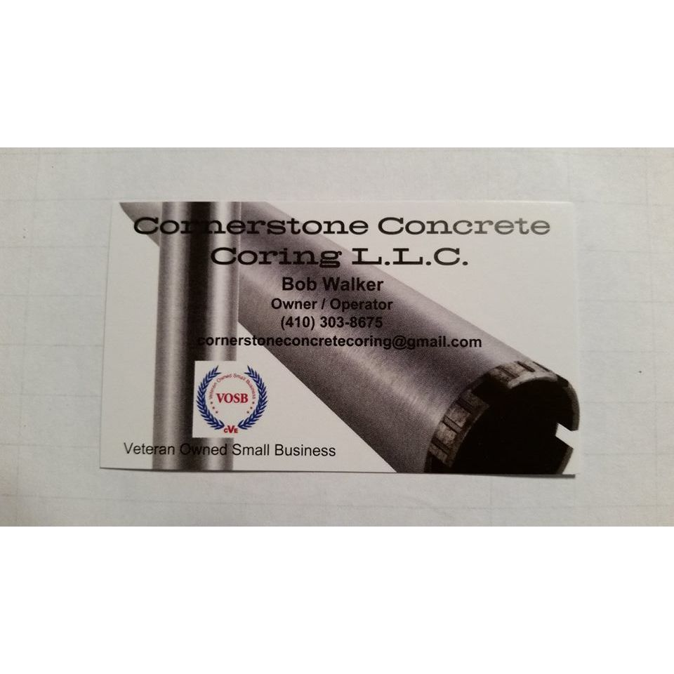 Cornerstone Concrete Coring