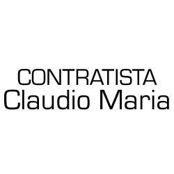 Contratista Claudio Maria.