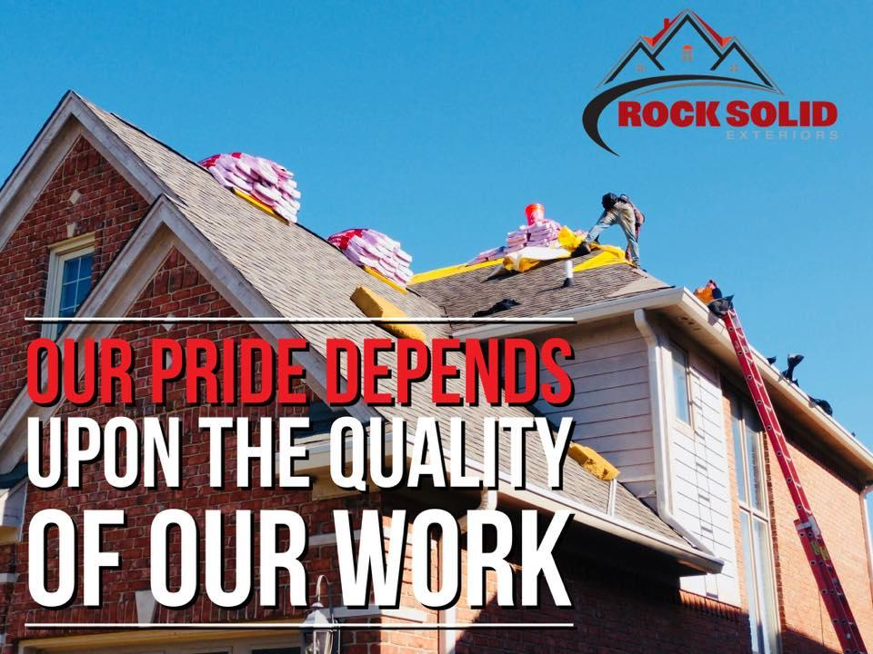 Rock Solid Exteriors - Roofers and Siding Contractors image 47