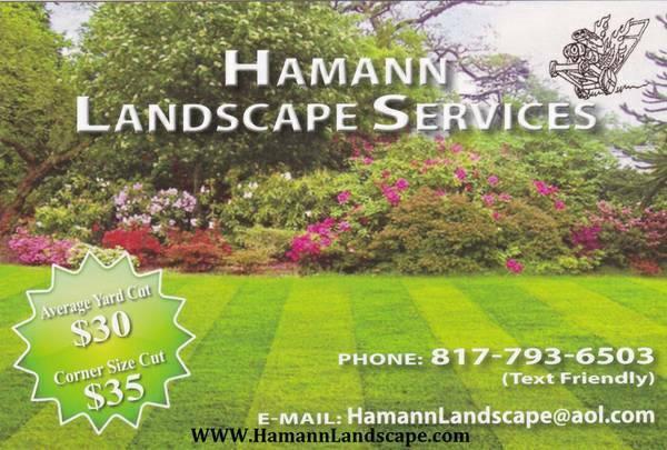 Hamann Landscape Services image 0