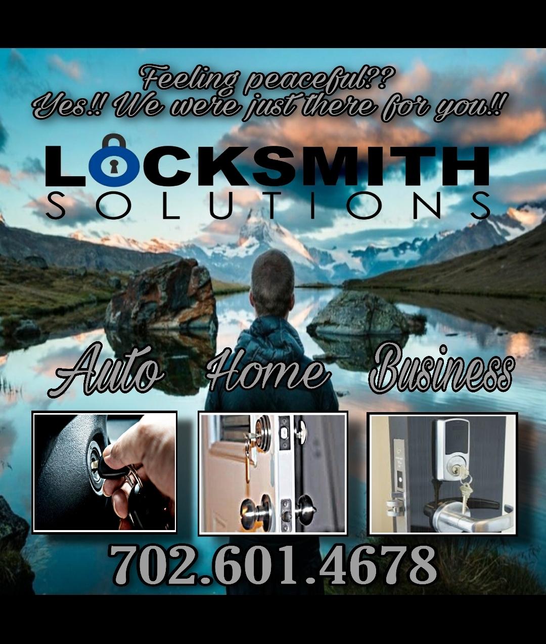 Locksmith Solutions LV