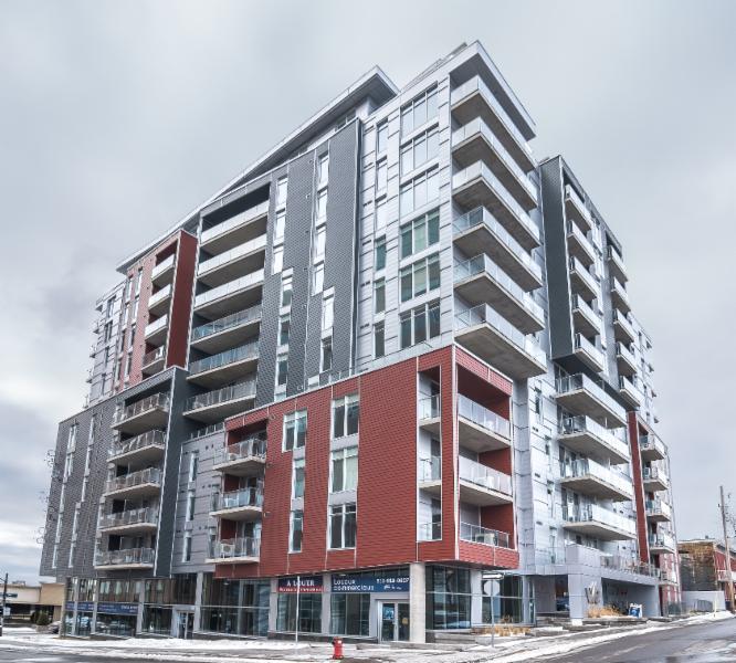 Les Toitures Raymond et Associés Inc à Gatineau: Le W/E.  Heafey Group. Gatineau. Commercial Roofing + Exterior Veneers