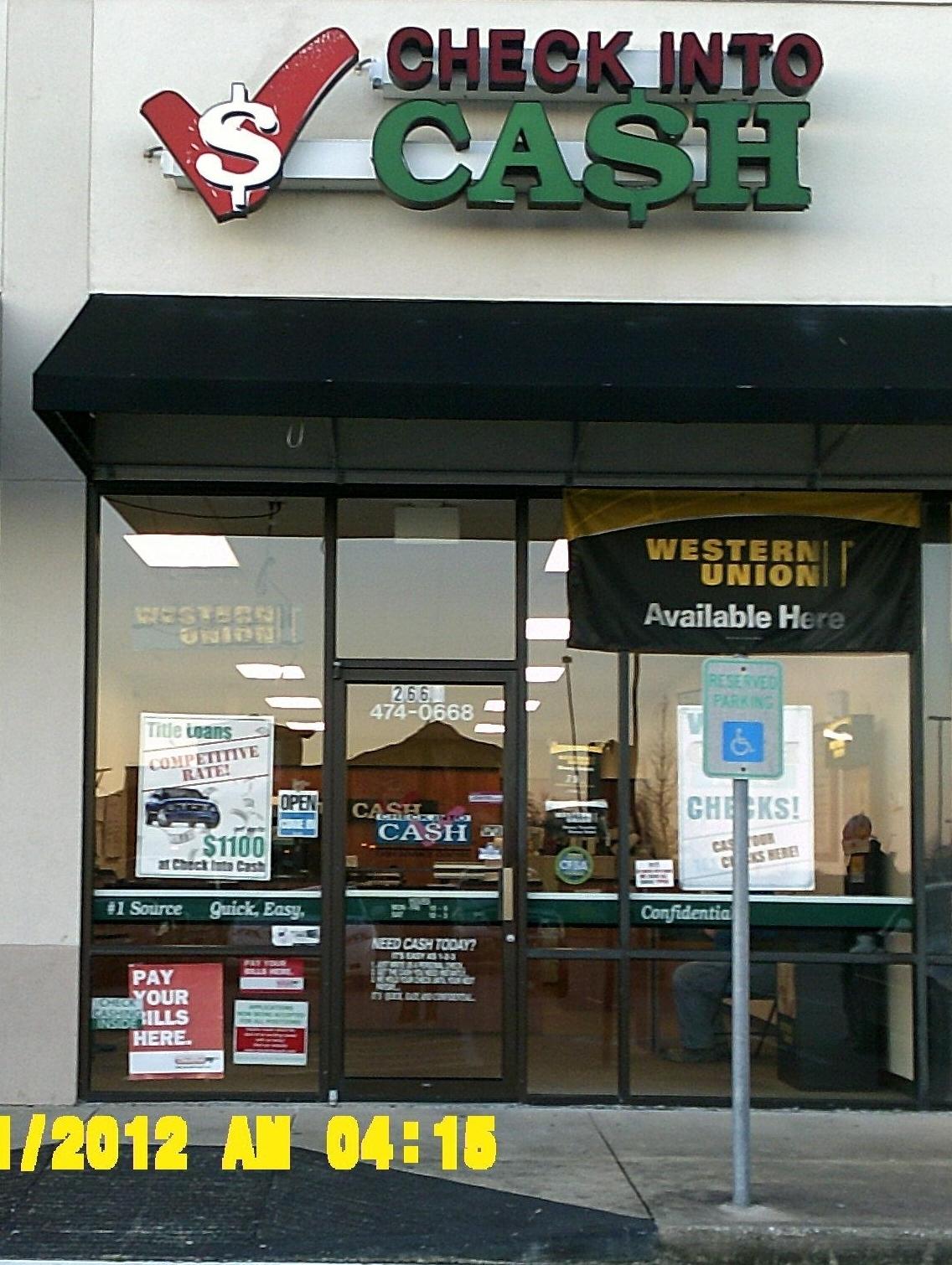 Check Into Cash image 0