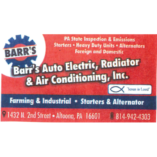 Barr S Auto Electric Radiator Amp Air Conditioning In
