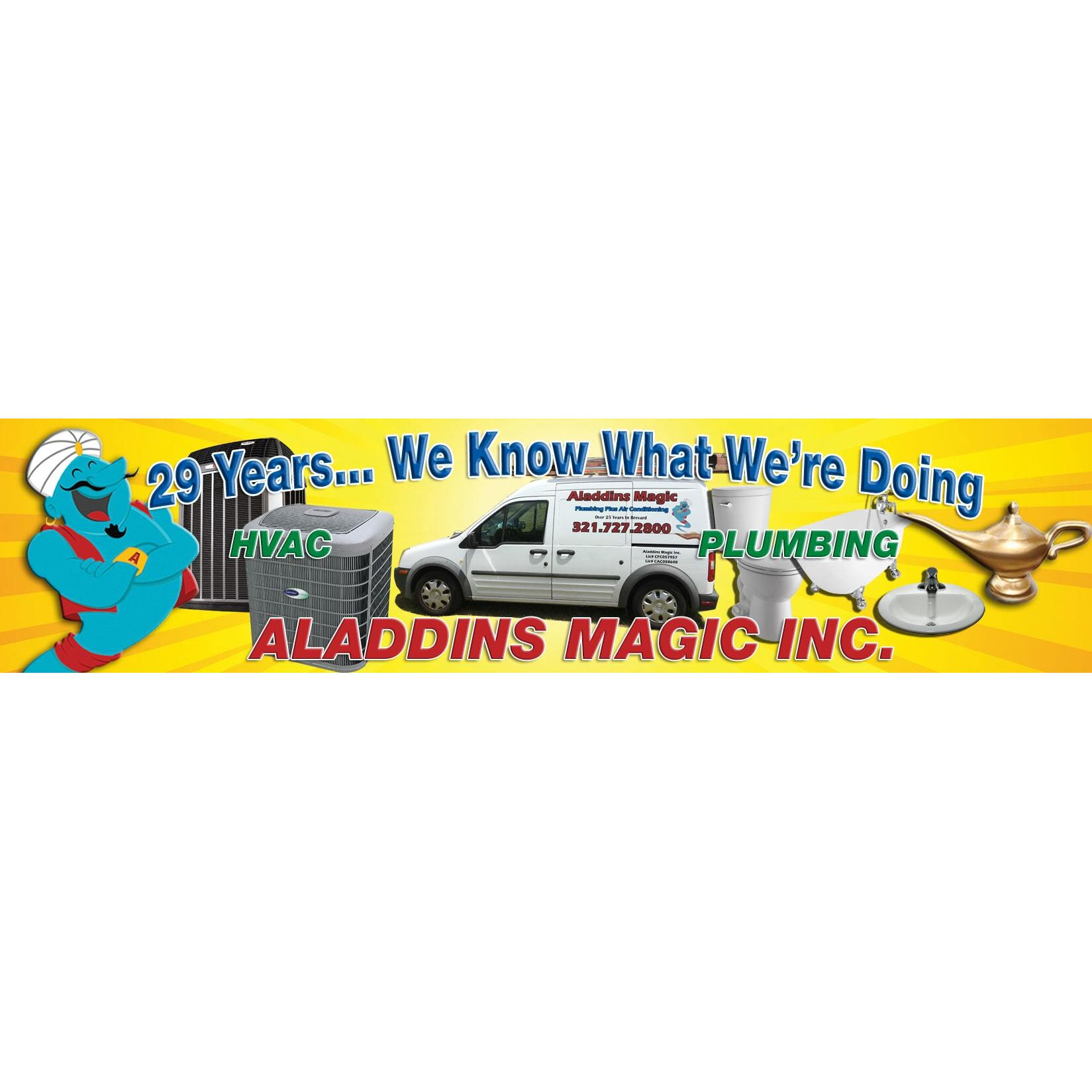 ALADDINS MAGIC PLUMBING & AC image 0