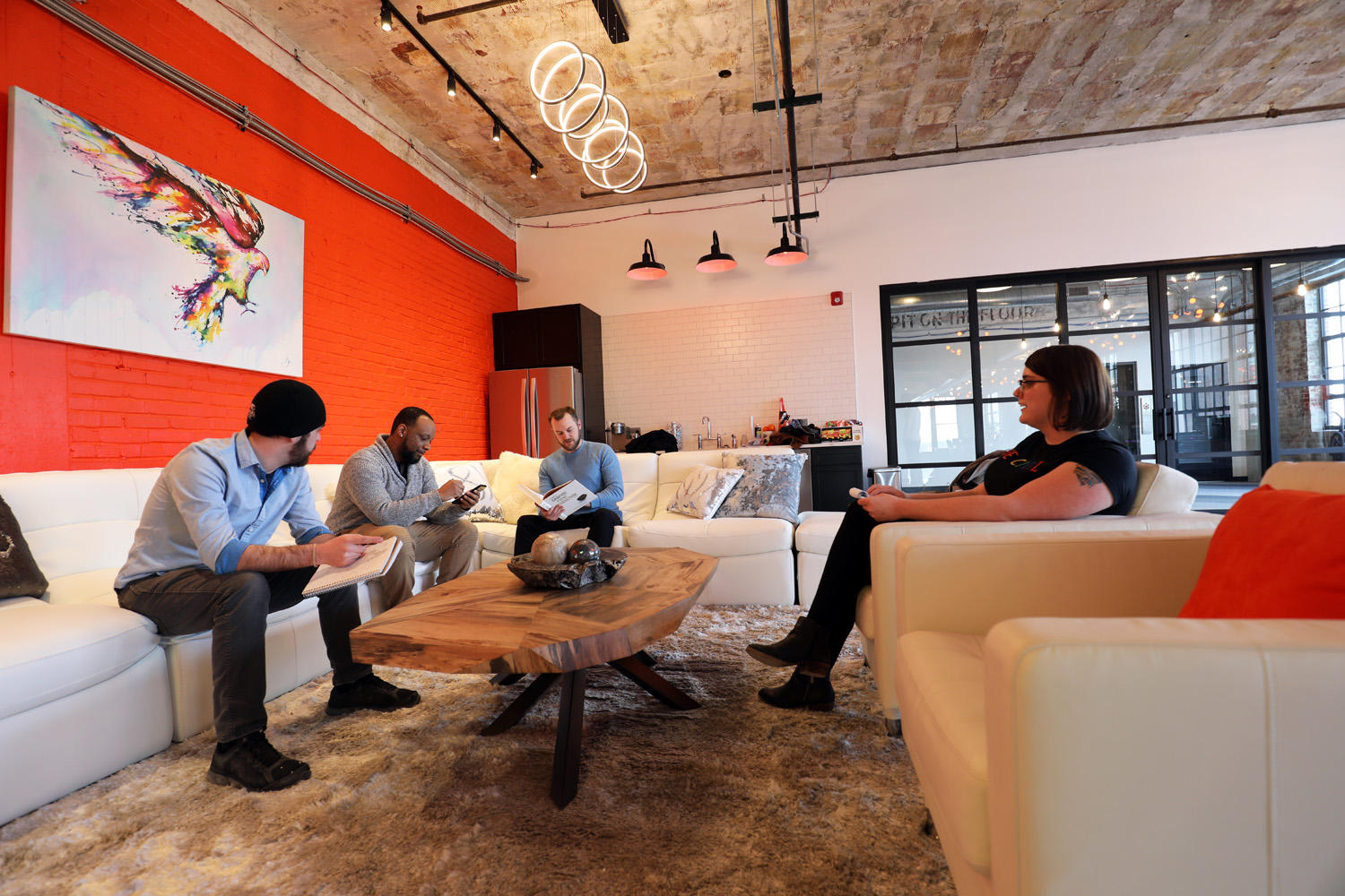 The interior of Web Design and Company, a St Louis SEO Company.