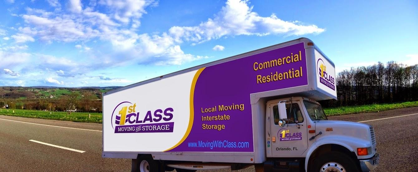 1st Class Moving and Storage image 3