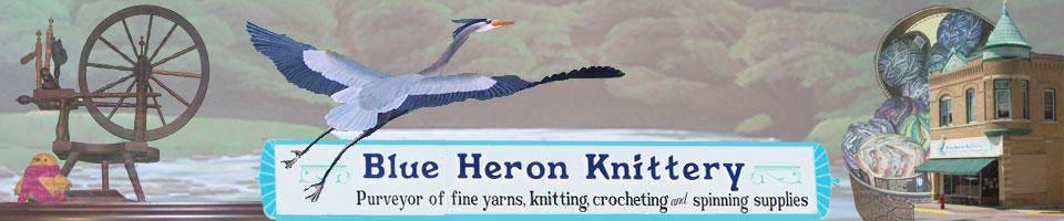 Blue Heron Knittery image 5