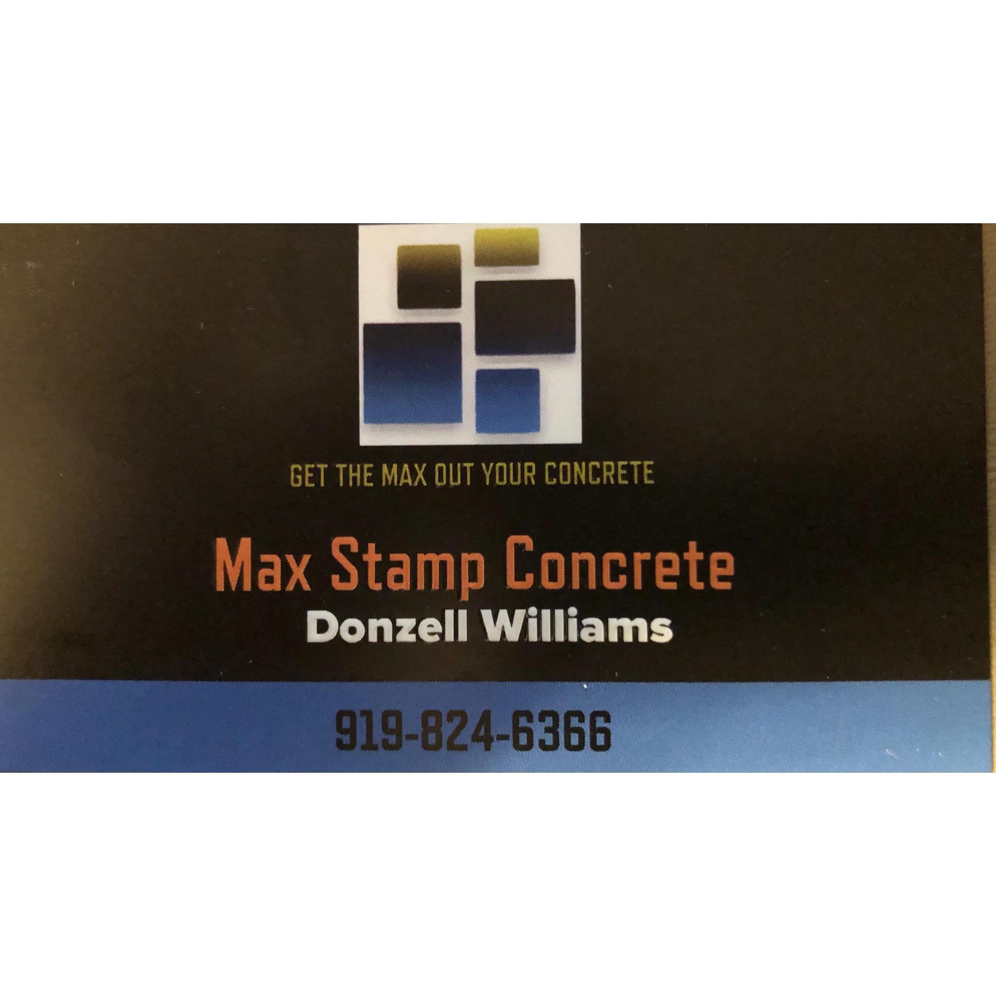 Max Stamp Concrete